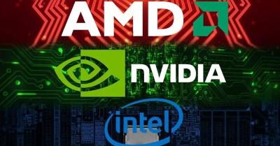 Hardware CPU Market, GPU and motherboards AMD vs Intel vs NVIDIA