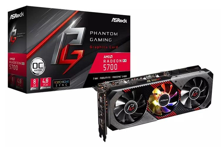 ASRock anuncia su nueva serie de gráficas Radeon RX 5700 Phantom Gaming 1