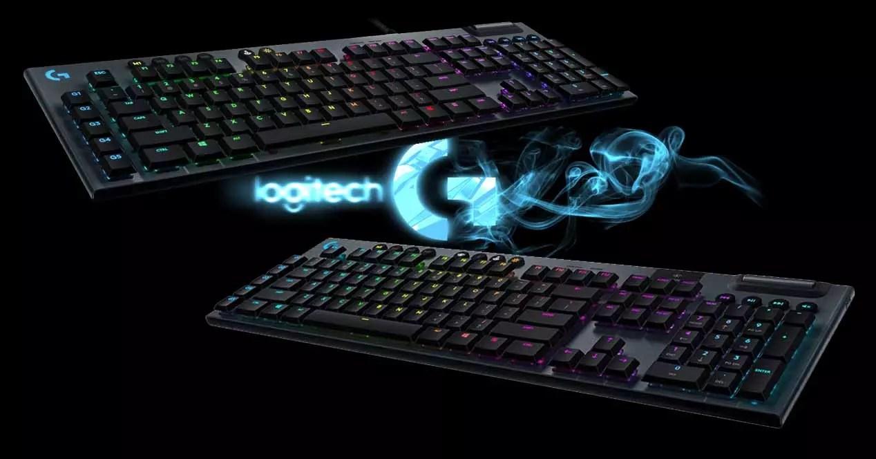 Logitech G815 vs G915 gaming technical comparison keyboard