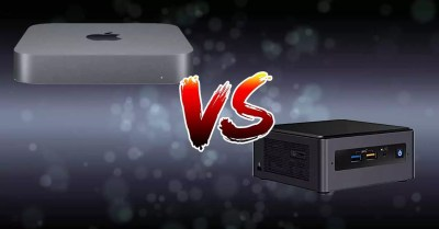 Comparison of technology Mac Mini vs Intel NUC, better?