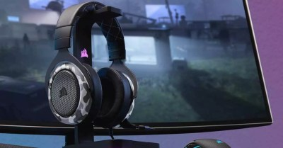 Corsair HS60 Haptic, headphones car engine games