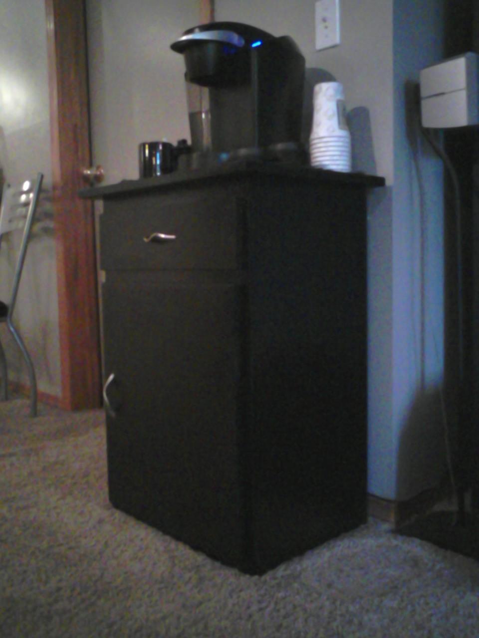 Coffee Cabinet  harebrainedwoodworking