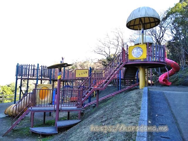 上野子どものもり公園 コンビネーション遊具
