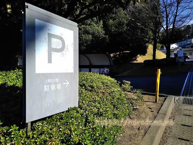 上野が丘公園 駐車場