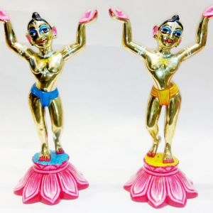 Gaura Nitai 6 Inches Special Paint