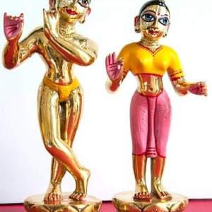 Lord Radha Krishna 12 Inches Deity