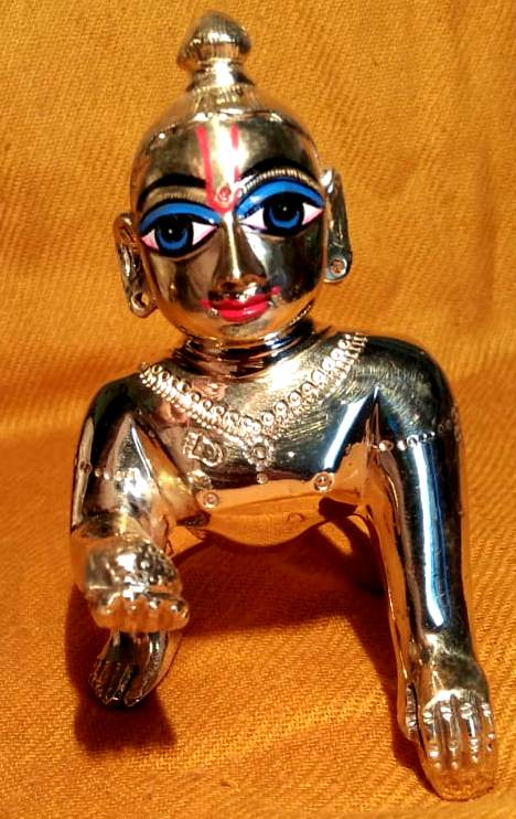 Laddu Gopal 4 inches