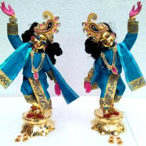 GauraNitai 12 inches Blue