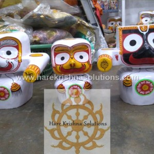 Jagannath Baladeva Subadra and Sudarshan 12 inches