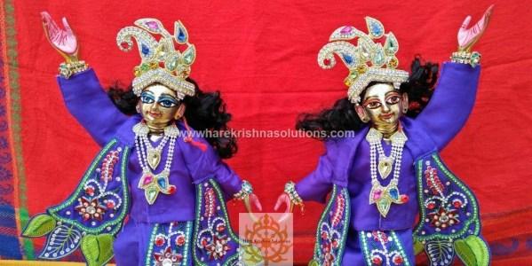 Gaura Nitai 12 inches Light Blue (3)