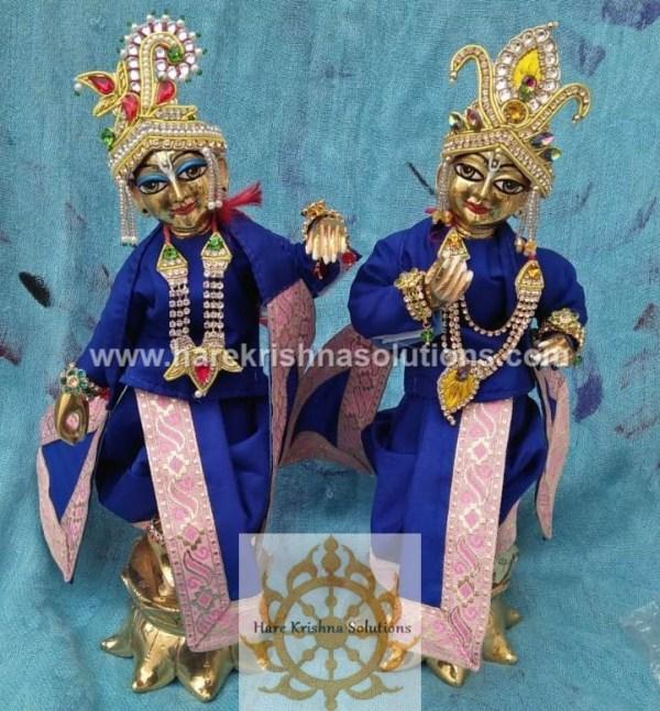 Krishna Balaram 10 inches PlainBlue (4)