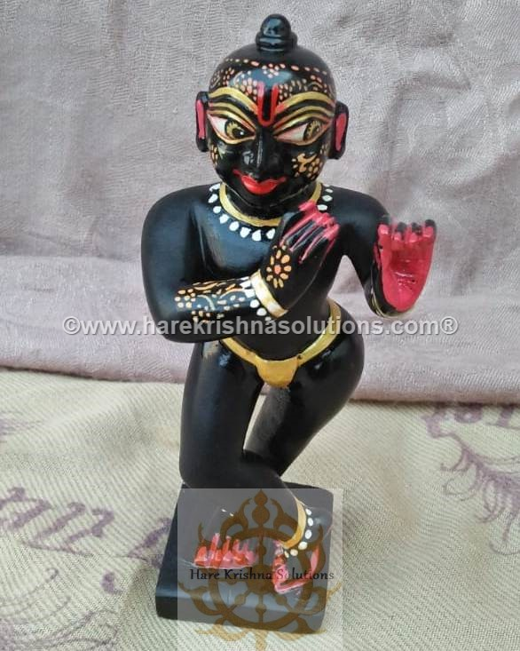 Black Krishna Sidelong Glancing (1)