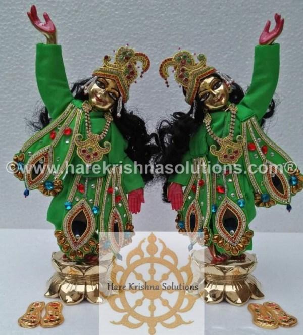 Gaura Nitai 12 inches Green (2)