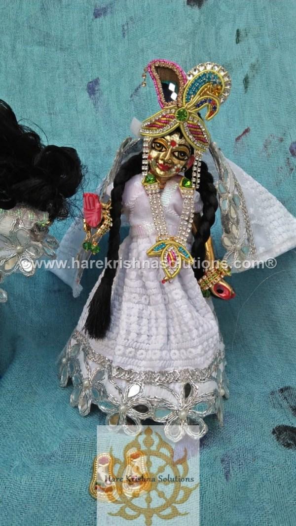 Radha Krishna 8 inches White (3)