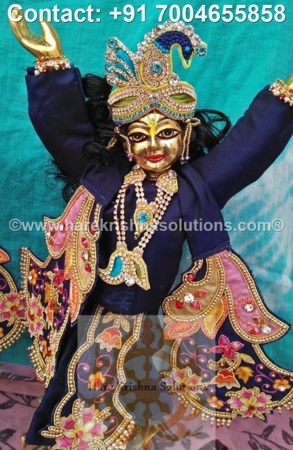 Gaura Nitai 12 inches Blue Dress (10)