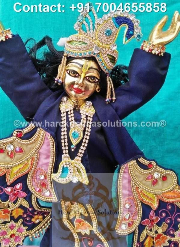 Gaura Nitai 12 inches Blue Dress (21)