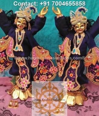 Gaura Nitai 12 inches Blue Dress (31)