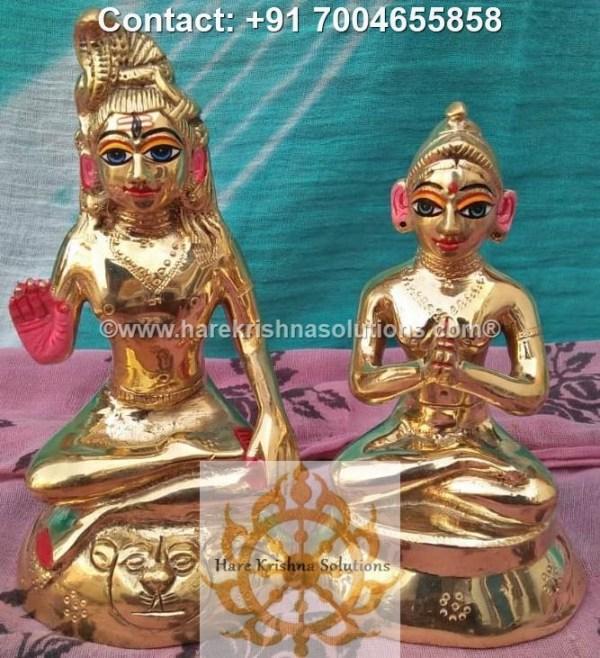 Shiva Parvati 6 inches (5)