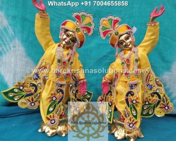 Gaura Nitai 12 inches Yellow 1