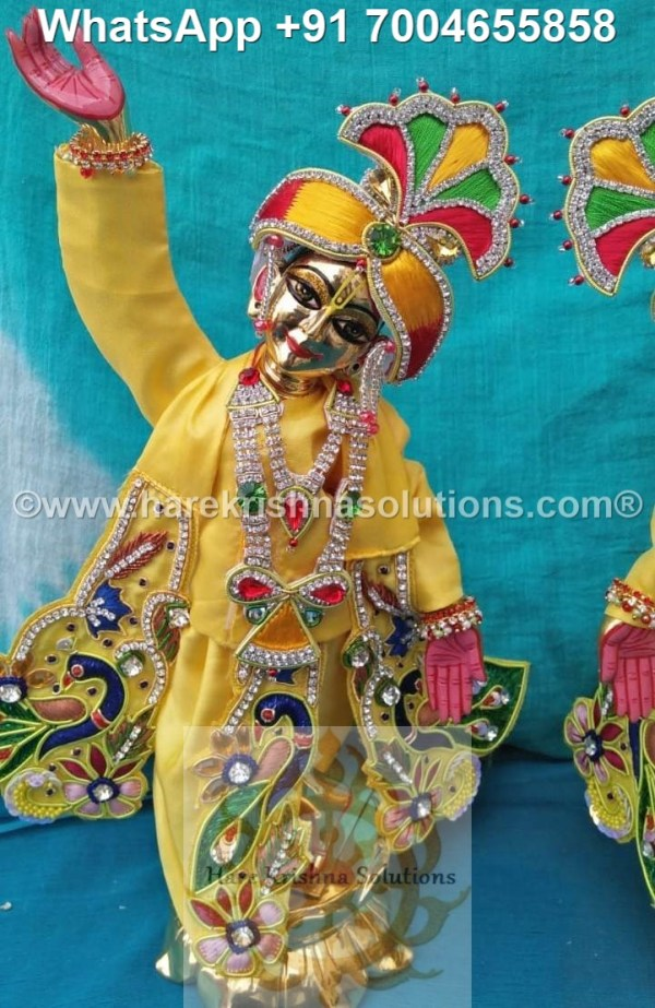 Gaura Nitai 12 inches Yellow 10