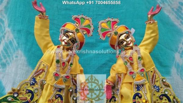 Gaura Nitai 12 inches Yellow 6