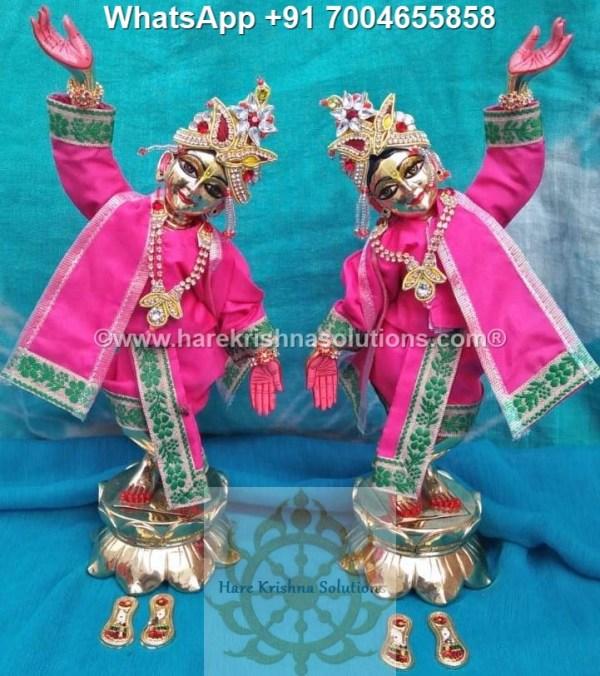 Gaura Nitai 12 inches Pink 3
