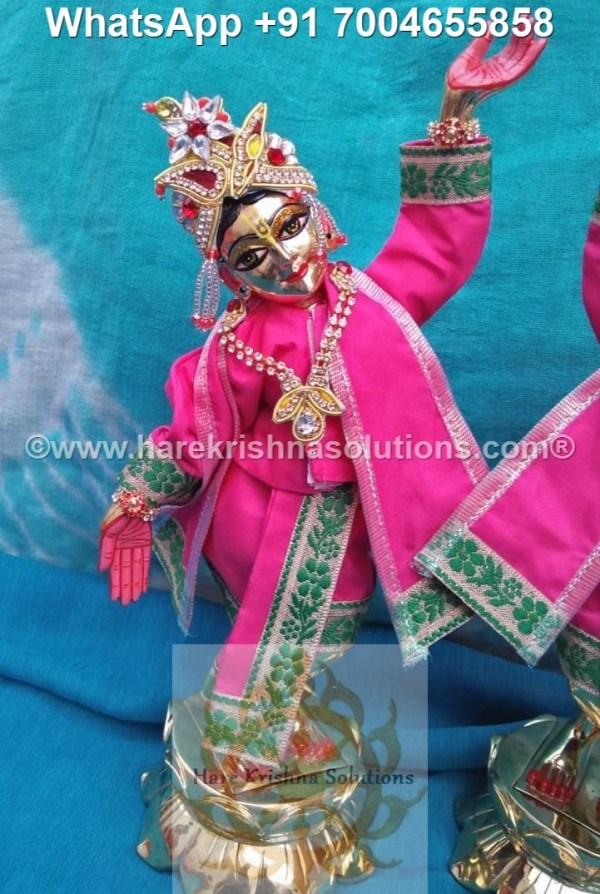 Gaura Nitai 12 inches Pink 4