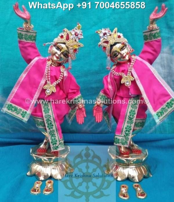 Gaura Nitai 12 inches Pink 7