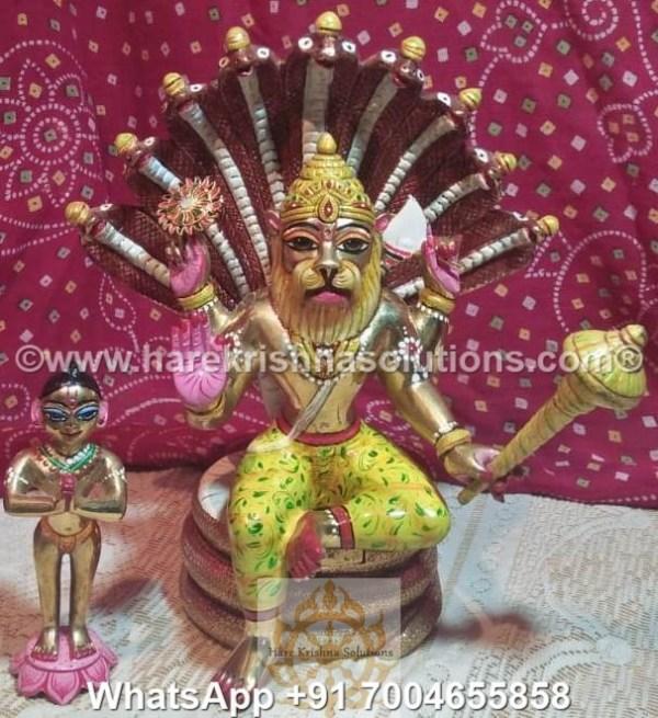 Prahalad Narasimha Dev 10in-Painted 2