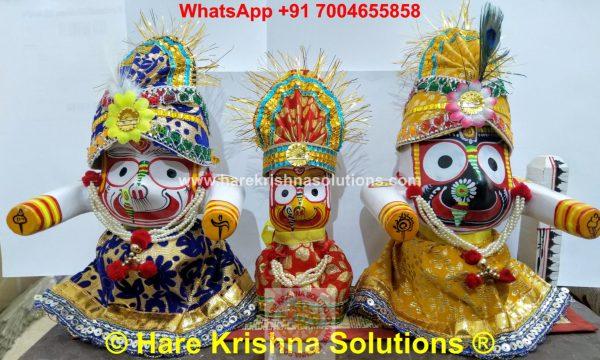Jagannath Regular 6 inches with Accessories (8)