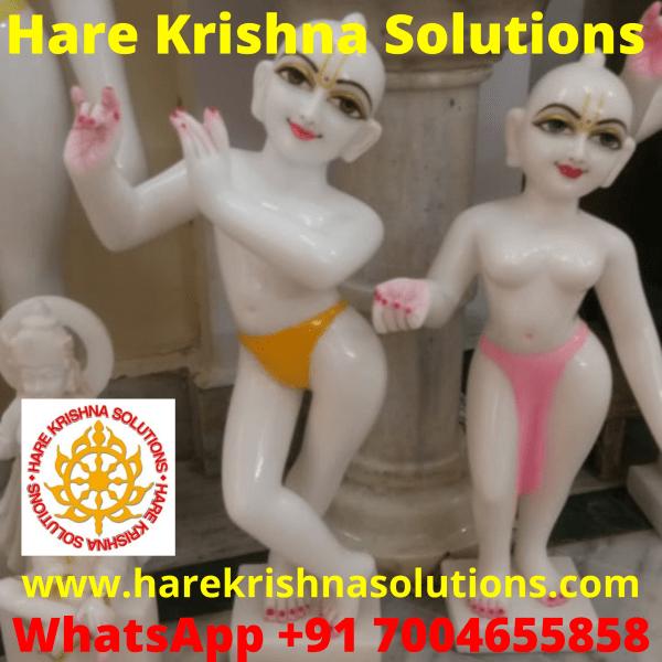 Radha Krishna Marble 2 Feet 3