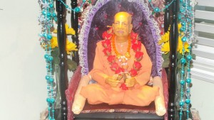 Srila Prabhupada murti at vidu initiation