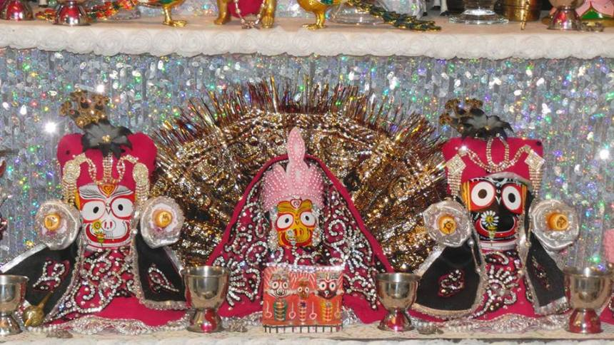 Vancouver Krishna Balaram Temple Sunday Feast - July 3, 2016