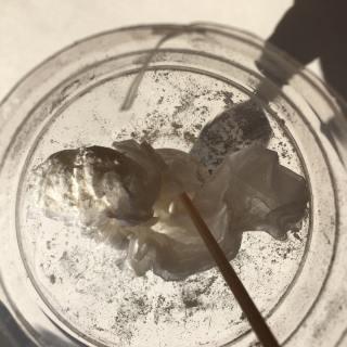 小麦粉を風船に上手に詰める方法
