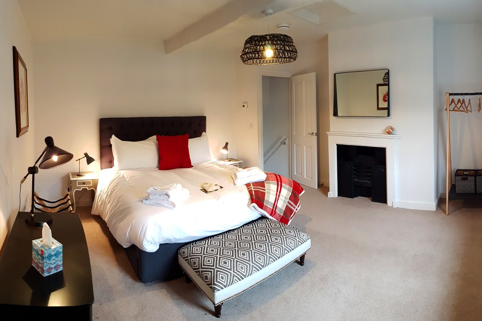 Bedroom at Mulberry Cottage