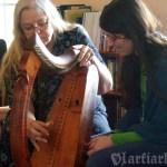 Masterclass z Ann Heymann na Scoil na gCláirseach 2009