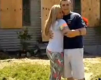 Couple Marries In Front Of Burned Down Home