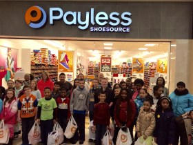 Boys & Girls Clubs of Harford County Provides Free Shoes to 150 Children Through Payless GivesTM Shoes 4 Kids Program