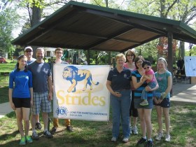 Lions Strides Walk To Raise Awareness Of Diabetes