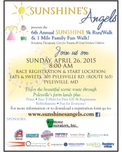 Sunshine's Angels Annual 5K Race & 1 Mile Walk