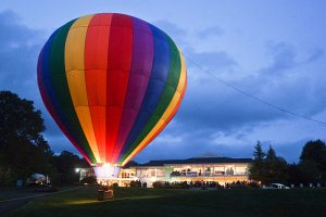 Hot air balloons will once again provide a scenic backdrop the for SARC Balloon Glow Gala taking place September 18 at the Maryland Golf and Country Club.