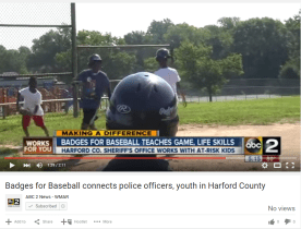 Badges for Baseball Helping Kids – WMAR