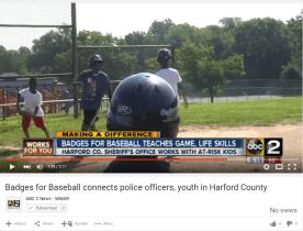 Badges for Baseball Helping Kids – WMAR