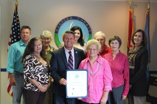 County Executive Barry Glassman Commends Harford County Kinship Caregivers