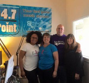 Pictured L to R: Delmonica Cobb, Jodi Gonzales, Rich Bennett and Pam Winnie
