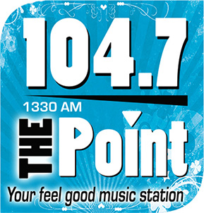 1330 AM and 104.7 The Point