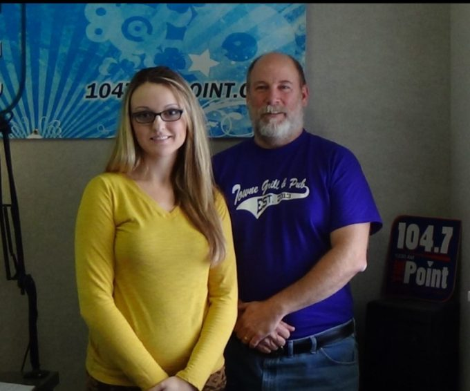 Pictured L to R: Nicole Makhnichenko, Independent Rep for AVON, and Rich Bennett, Owner and Host of Harford County Living.