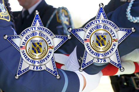 Phot from the Harford County Sheriff's Office Facebook Page