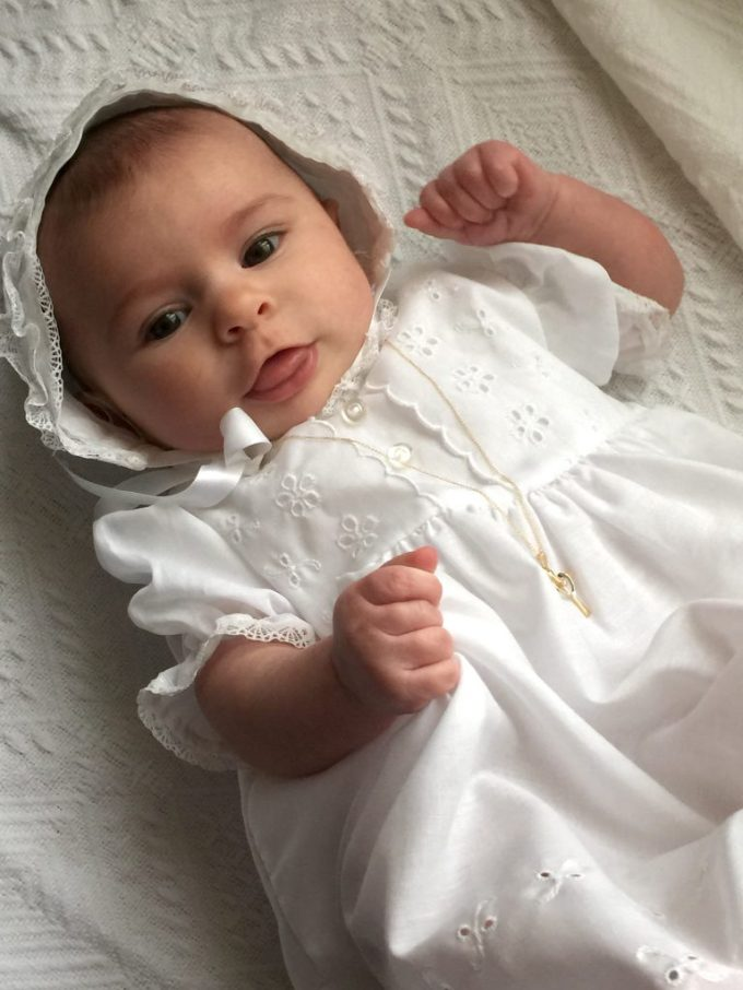 "Six-month old Charlotte Vogt was the winner of the 2015 ""Celebree Presents Harford's Most Beautiful Baby Contest."""
