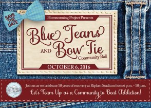 Homecoming Project Celebrates 10th Anniversary With Blue Jeans And Bow Tie Ball